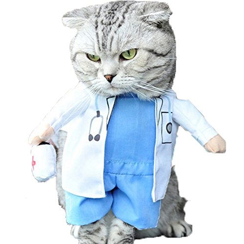 NACOCO-Dog-Cat-Doctor-Costume-Pet-Doctor-Clothing-Halloween-Jeans-Outfit-Apparel-0
