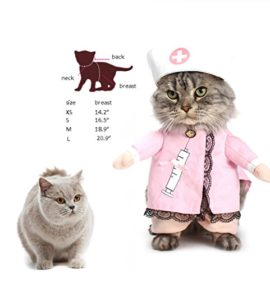 NACOCO-Dog-Cat-Nurse-Costume-Pet-Nurse-Clothing-Halloween-Jeans-Outfit-Apparel-0-1