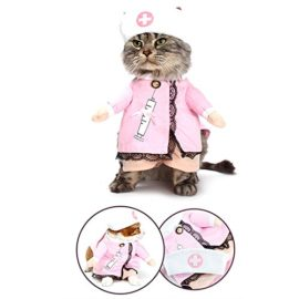 NACOCO-Dog-Cat-Nurse-Costume-Pet-Nurse-Clothing-Halloween-Jeans-Outfit-Apparel-0