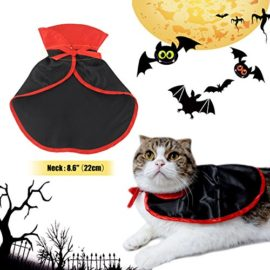 Neychen-Pet-Dog-Cat-CloakHalloween-Christmas-Party-Cosplay-Costumes-in-Vampire-Cape-DesignBlack-Red-0-5