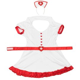 Night-Shift-Nurse-Womens-Halloween-Costume-Sexy-Medical-RN-Hospital-Scrubs-0-2
