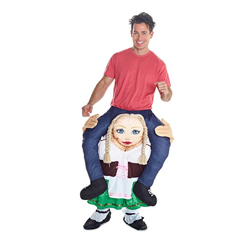 Novelty Piggy Back Funny Piggyback Costume Unisex – With Stuff Your Own Legs
