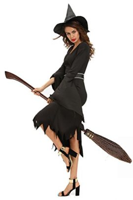 NuoReel-Womens-All-Black-Gothic-Witch-Halloween-Costume-0-1