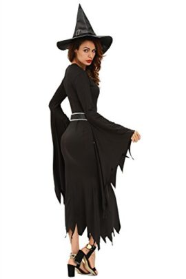 NuoReel-Womens-All-Black-Gothic-Witch-Halloween-Costume-0-2
