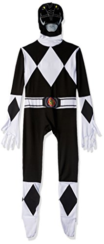 Official Black Power Ranger Morphsuit Costume – size Medium – 5′-5'4 (150cm-162cm)