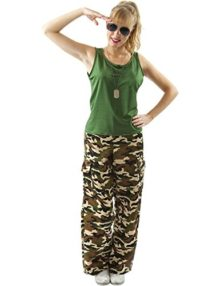 Orion-Costumes-Womens-Camouflage-Army-Girl-Soldier-Military-Fancy-Dress-Costume-0