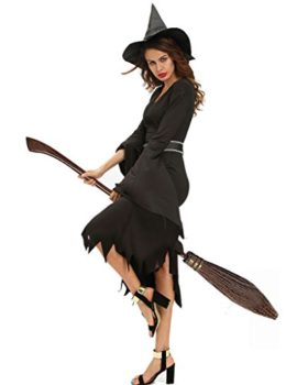 Papaya-Wear-Womens-Sorceress-Witch-Costume-with-Hat-Adult-0-0