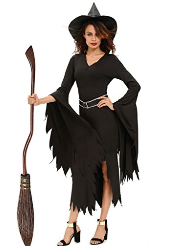 Papaya Wear Women S Sorceress Witch Costume With Hat Adult