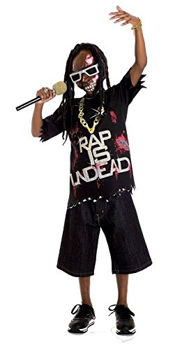 Paper Magic Group Zombie Icons Rap Star Costume