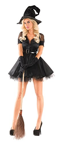 Party-King-Womens-Bewitching-Pin-Up-Witch-Sexy-3-Piece-Costume-Set-0