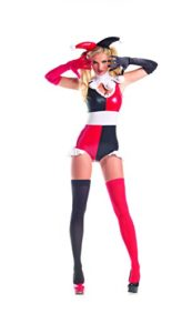 Party-King-Womens-Evil-Little-Harlequin-4-Piece-Costume-Set-0