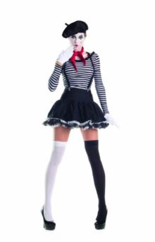Party-King-Womens-Mesmerizing-Mime-7-Piece-Costume-Set-with-Hat-0