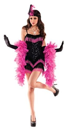 Party-King-Womens-Ombre-Flapper-Sexy-5-Piece-Costume-Set-0