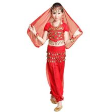 Pilot-trade-Kid-5-Piece-Indian-Dance-Set-Halloween-Belly-Dance-Costumes-0
