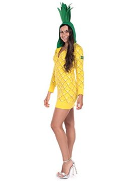 Pineapple-Halloween-Costume-Dress-Pineapple-Onesie-for-Women-0-0