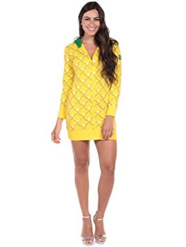 Pineapple-Halloween-Costume-Dress-Pineapple-Onesie-for-Women-0-1