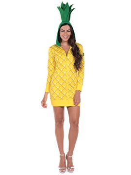 Pineapple-Halloween-Costume-Dress-Pineapple-Onesie-for-Women-0