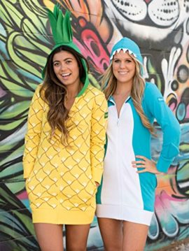 Pineapple-Halloween-Costume-Dress-Pineapple-Onesie-for-Women-0-4