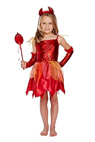 Pinsbury-Little-Girls-Costume-Devil-Girl-S-0  sc 1 st  Halloween Costumes Best & Pinsbury Little Girlsu0027 Costume Devil Girl - S - Halloween Costumes Best