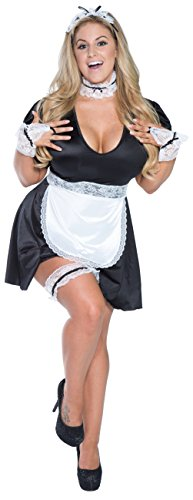 Plus Size Retro Maid Costume