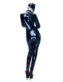 Quesera-Womens-Catsuit-Bodysuit-Full-Body-One-Piece-Zip-Up-Front-Catwoman-Costume-0-0