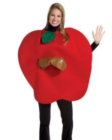 Rasta-Imposta-Apple-with-Worm-Costume-0