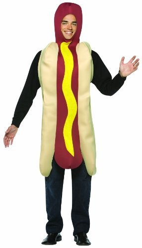 Rasta Imposta Lightweight Hot Dog Costume