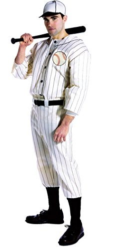 Rasta Imposta Mens Old Time Baseball Player Uniforms Theme Party Costume