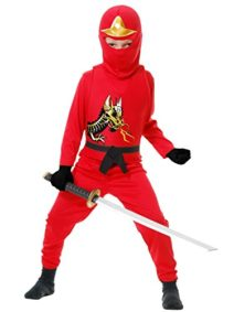 Red-Ninja-Avenger-II-Kids-Costume-0