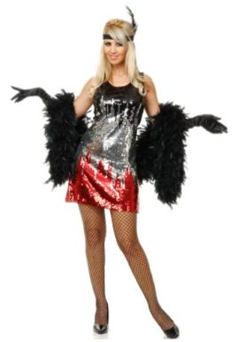 RedSilverBlack-Sequin-Flapper-Costume-0