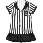Risque-Referee-Womens-Halloween-Costume-Sexy-Sports-Ref-Ump-Skirt-Outfit-0-2