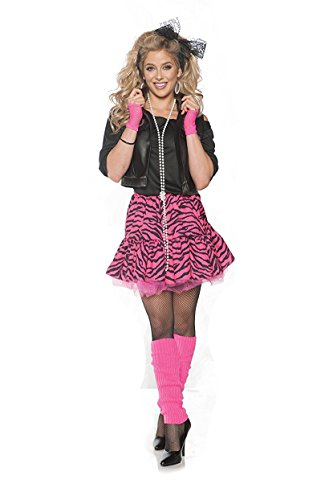 Rockin' the 80's Valley Girl Costume