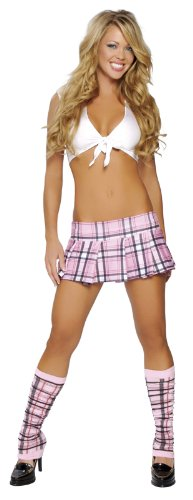 Roma Costume 2 Piece Flirty School Girl Costume
