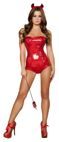 Roma Costume 3 Piece Devilish Delight Costume
