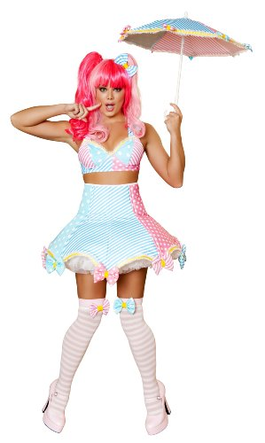Roma Costume 3 Piece Lady Laughter Costume