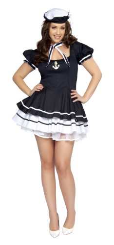 Roma Costume 3 Piece Sailor Sweetie As Shown