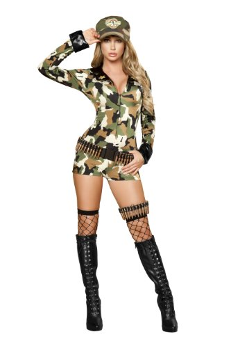 Roma Costume 3 Piece Sexy Soldier Costume