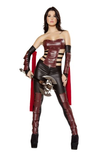 Roma Costume 3 Piece Sexy Warrior Costume