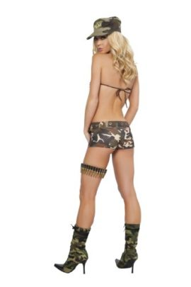Roma-Costume-4-Piece-Military-Babe-Costume-0-0