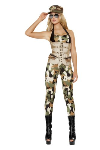 Roma Costume 4 Piece Sensual Soldier Costume