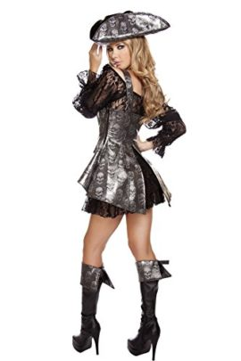 Roma-Costume-Womens-2-Piece-Deadly-Pirate-Wench-0-0