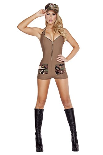 Roma Costume Women's 2 Piece Sultry Soldier