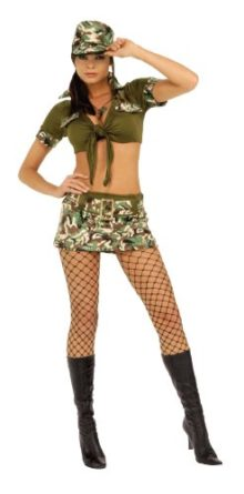 Rubies-Costume-Booty-Camp-Sergeant-Womens-Costume-0
