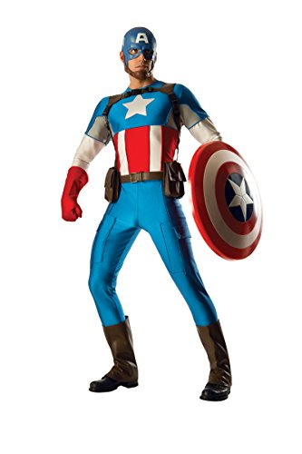 Rubie's Costume Co Men's Marvel Universe Grand Heritage Captain America Costume