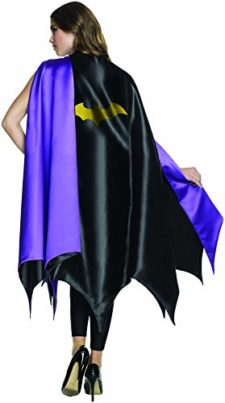 Rubies-Costume-Co-Womens-DC-Superheroes-Deluxe-Batgirl-Cape-0