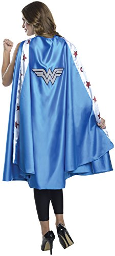 Rubies-Costume-Co-Womens-DC-Superheroes-Deluxe-Wonder-Woman-Cape-0