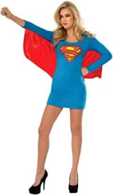 Rubies-Costume-Co-Womens-DC-Superheroes-Supergirl-Cape-Dress-0