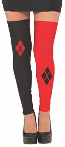 Rubies-Costume-Co-Womens-Dc-Superheroes-Harley-Quinn-Thigh-Highs-0