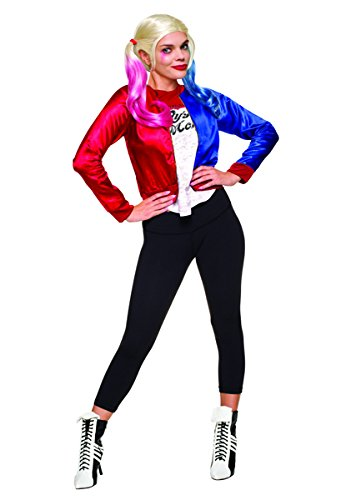 Rubie's Costume Co. Women's Suicide Squad Harley Quinn Teen Costume Kit