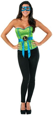 Rubies-Costume-Co-Womens-Teenage-Mutant-Ninja-Turtles-Leonardo-Corset-0